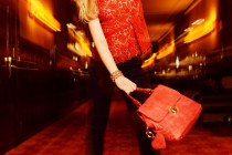 RED IS FAB – THE KAYTURE BAG