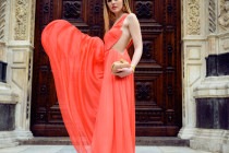 LUISA VIA ROMA : STYLE LAB CORAL LOOK