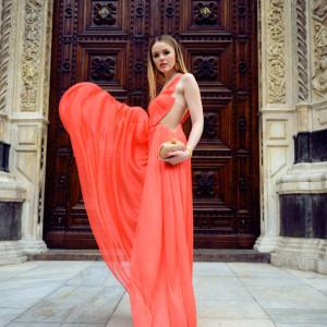 LUISA VIA ROMA : STYLE LAB CORAL LOOK