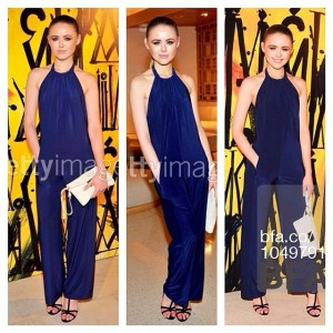 Thank you guys for sending over these beautiful images from the @jimmychooltd event. Here at the photowall wearing a @tbagslosangeles jumpsuit, @hugoboss shoes and a Jimmy Choo clutch. #choolala #kaytureonthego