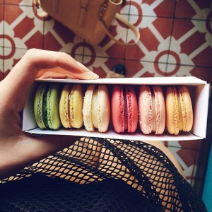 My favourite little sin. Some macarons from the best spot in L.A, lette on Larchmond. They are the ones I like the most so far! #foodie #kaytureonthego #kaytureplaces
