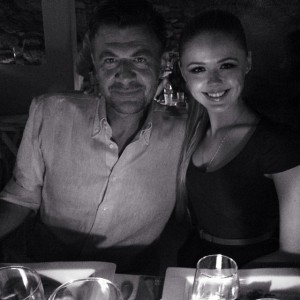 A great night with great people. At yesterday's @louisvuitton dinner with @roberto_eggs in Mykonos