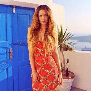 New article on www.kayture.com shot in beautiful Greece featuring this mermaid like @virgoslounge dress! Make sure to check it out