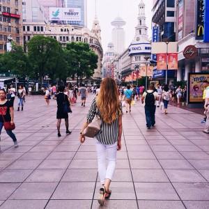 Exploring Shanghai #kaytureonthego