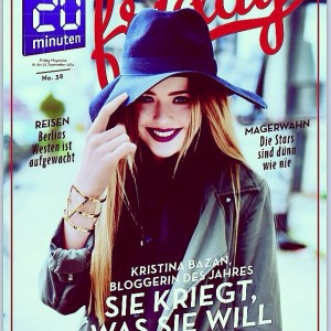No better way to mark this insane of a day than with the cover of our biggest swiss magazine, 20 Minuten Friday, for which I am the covergirl! Seriously honoured, proud and so so so grateful