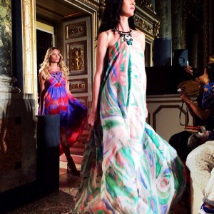 Gorgeous finale at the @emiliopucci show