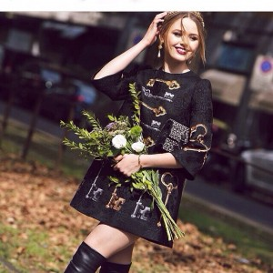 After the @dolcegabbana show, last outfit of my Milan fashion week season