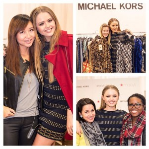 Had the most amazing time meeting you guys yesterday at @macys for the event I had the pleasure to host with @michaelkors! So many of you came, never expected to have such big support in Chicago! I'm always amazed to see how Kayture's reach is limitless and broad, it leaves me speechless. It makes me feel so lucky and grateful to be able to connect with you all over the world and share my passion. Many of you came with hearts full of dreams and ambition, and I am so honoured to be able to somehow give you some strength, motivation and inspiration throughout your journey. Thank you again for coming! Love you all so much ❤️ #1MKayturettes #MKxMacys