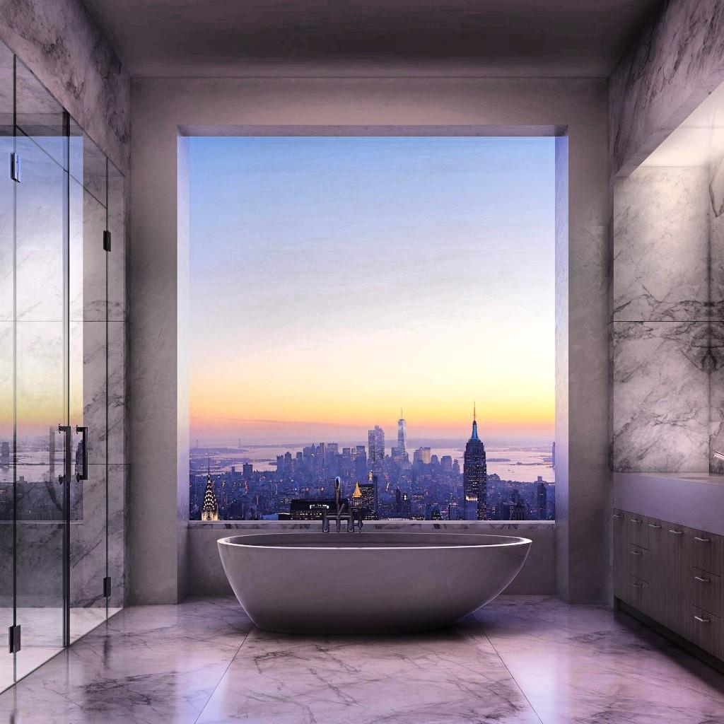 Baño-con-vistas-en-Nueva-York