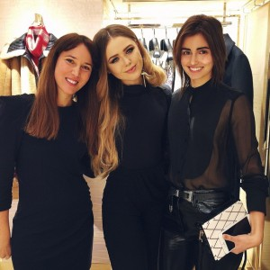 With the girls! Yesterday night at the @louisvuitton event with @annecatherinefrey and my sweet Vanessa ❤️