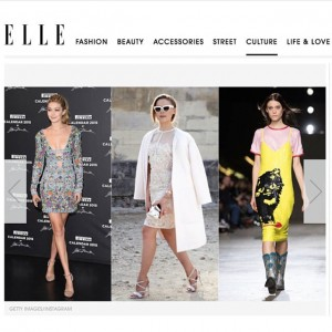 "Super honoured to be one of the ""rising stars hitting official A-list status"" in the ""Rookies of the year: 2014′s Breakout Stars"" article in @elleusa magazine, the fashion category with @kendalljenner and @gigihadid !"