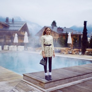 NEW article on www.kayture.com! Greetings from Gstaad, Switzerland at @thealpinagstaad. Read about what happened these last couple of days and check out this gorgeous Simone Rocha dress from @slocation to rock for New Year's Eve!
