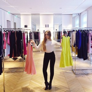 Fitting time chez @dior…