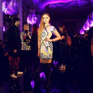 At the @versace_official Haute Couture show