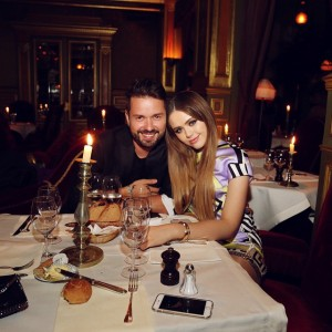 Late dinner with my love @maximsap ❤️ #parisiannights