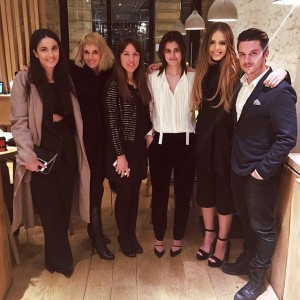 Such a wonderful night with our friends (feels like family ❤️) after the @louisvuitton event at the Espace Culturel with @fionazanetti @annecatherinefrey @homelandempire @jameschardon @ankedres