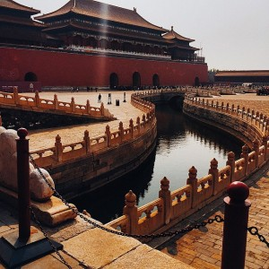 Visiting the forbidden city of Beijing. Absolutely magical #kaytureonthego