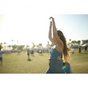 Thanks to my awesone friend @j2martinez for capturing these cool moments of me running around Coachella like a monkey