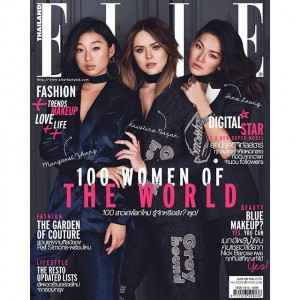 #GIRLPOWER is the word for the new cover that I am excited to share with these killer girls, @margaret__zhang and @tinaleung for @ellethailandofficial's newest issue. It's amazing to be with these two beautiful souls and creative minds that are such great examples of hard work and passion. Read the full story inside!